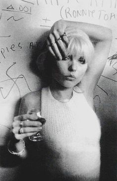Debbie Harry. Photo by Bobby Grossman. °