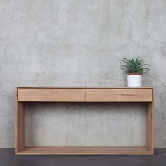contemporary sideboard table in solid wood 51444 Studio emorational, Ethnicraft Style for Projects Nordic Furniture, Timber Furniture, Ikea Furniture, Living Room Furniture, Modern Furniture, Furniture Design, Rustic Furniture, Furniture Layout, Furniture Online