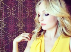 Candice Accola aka Caroline Forbes our favorite vampire Barbie ;)
