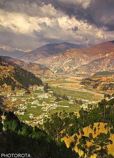 Green Valley. Pakistan
