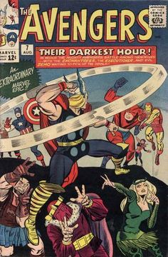 Cover for The Avengers (Marvel, 1963 series) #7
