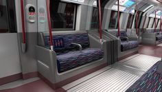 Paul Nulty Lighting Design - New Tube for London - Public Transport Integrated Interior Illumination Scheme
