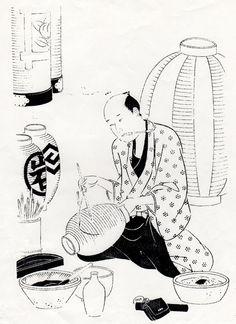 江戸手描提灯(ちょうちん)の販売 東京浅草 提灯屋.com [ 文字家紋 ]