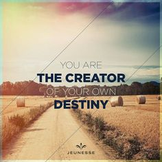 You are the creator of your own destiny.  http://ift.tt/2e4AgBy #simi #CyberMonday #MexicoGP #OnlyAcceptableToday #WorldSeries #Orgreave