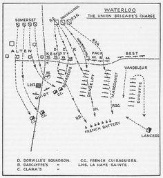 HM Journal Issue18 Br Cav Waterloo - 13th Light Dragoons Waterloo Map, Battle Of Waterloo, Armature, La Haye, Hundred Days, Napoleonic Wars, British Army, Military History, Diorama