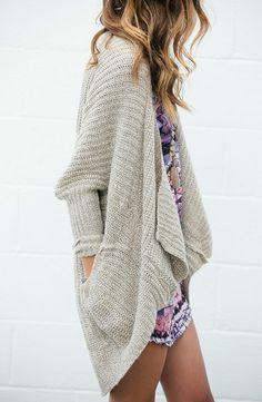 Drape Dolman Sweater