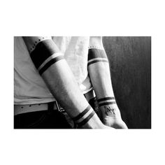 Fuck Yeah Blackwork Tattoos ❤ liked on Polyvore featuring accessories and body art