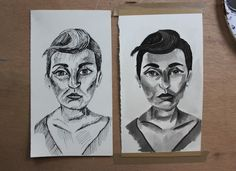 There's more than one way to craft a pen and ink portrait. Learn helpful tips for creating the same drawing with two different techniques. Each has their own unique look.