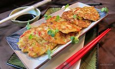 Tofu Veggie Pancakes are crisp around edges and smooth and silky smooth in the centre with plenty of vegetables and crunchy bamboo with a dipping sauce. Chinese Vegetables, Fresh Vegetables, Veggies, Vegan Recipes, Cooking Recipes, Vegan Foods, Tofu Dishes, Chinese Cabbage, Coleslaw