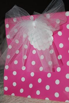 Angela Yosten: Princess Birthday Party Favors