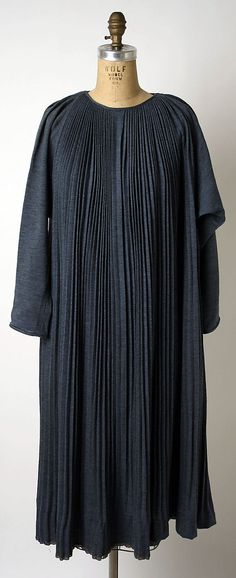Dress Claire McCardell (American, 1905–1958) Manufacturer: Townley Frocks (American) Date: ca. 1953 Culture: American Medium: wool