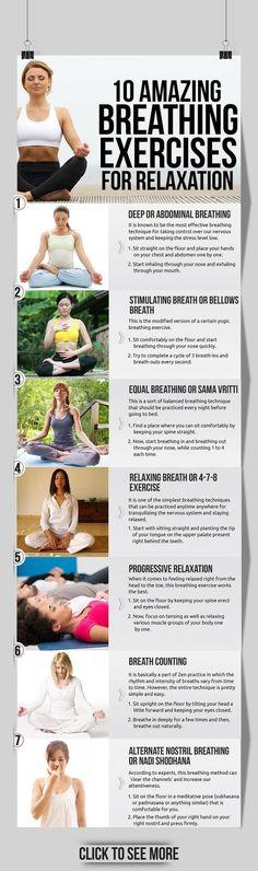 10 Amazing Exercises for Relaxation - Meditation