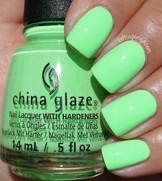 China Glaze Lime After Lime // @kelliegonzoblog