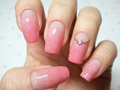 Bem garota   #unhas #decoradas #rosa