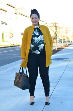 Girl With Curves: Floral
