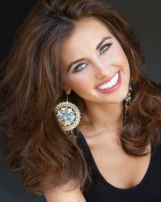 This is your Miss Ohio, Mackenzie Bart. This is her official headshot for the Miss America Pageant. Isn't she just beautiful.