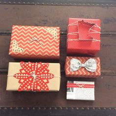 Red Christmas wrapping