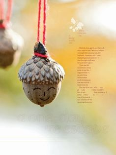 Craft an Acorn necklace