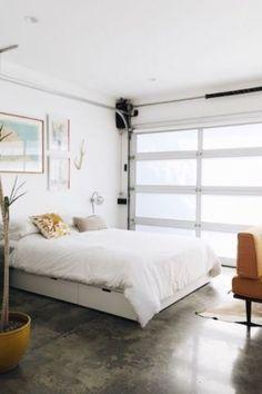 3d floor plan image 0 for the studio floor plan 400 sqft for Garage conversion to bedroom ideas