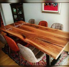 Ağaç masa, kütük masa, doğal masa, Karaağaç doğal ahşap yemek masası uygulaması HVS Tasarım tarafından yapılmaktadır. Daha fazla uygulama resmi ve bilgi için www.agacmasa.com veya www.hvstasarim.com sitelerimizi inceleyebilirsiniz.