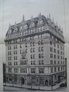Hotel Navarre on 77th Avenue and 38th Street , New York, NY, 1901, Barney & Chapman