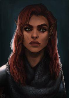 The Warden by Shamiana.deviantart.com on @DeviantArt