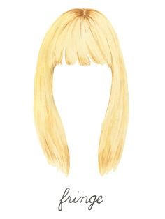 Expert Tips On How to Choose the Right Bangs For You: We asked London-based hairstylist George Northwood to tackle four of our favorite eyebrow-grazing bang styles. We're going for it, kids. -- Fringe bangs  |  coveteur.com