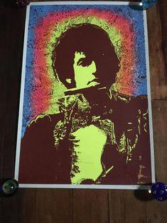 Bob Dylan 1968 Joe Roberts Jr Original Rare Vintage | Etsy