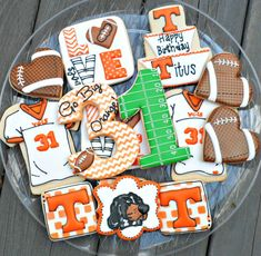 Football Cookies | Sweet Tweets