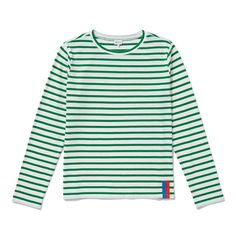 When day-off, tomboy style gets a Kate Moss finish, you end up with The Modern Long, a long-sleeve top made of an almost tissue-like cotton that's light and airy, making it a perfect base for so many