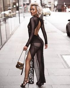 """""""I ❤️ her sexy dress and high heels, she has long sexy legs """" Mode Outfits, Sexy Outfits, Sexy Dresses, Fashion Outfits, Heels Outfits, Dress Fashion, Style Fashion, Moda Fashion, Fashion Models"""