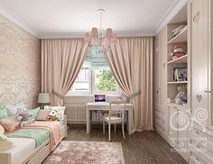 Комната для девочки с шикарным дизайном