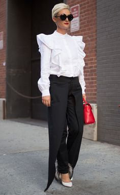 Casual Fall Outfits That Will Make You Look Cool – Fashion, Home decorating Fall Fashion Outfits, Casual Fall Outfits, Red Fashion, Womens Fashion, Red And White Outfits, Ivanka Trump Style, Work Attire Women, Leotard Fashion, Look Cool
