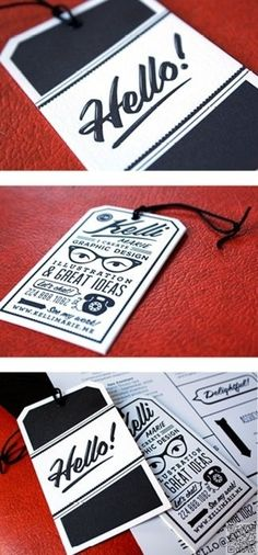 52. Tag - 61 #Insanely Clever Business #Cards You'll Want for Yourself ... → #Lifestyle #Business