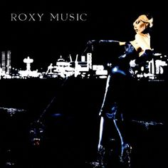 For Your Pleasure 1973 Roxy Music Album featuring Amanda Lear, with the Las Vegas Strip as the background, and a panther on a leash. Photo by Karl Stoecker. Viva Las Vegas indeed!