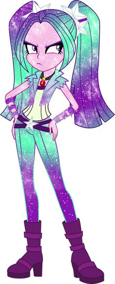 Galaxy EG Aria Blaze by DigiRadiance on DeviantArt