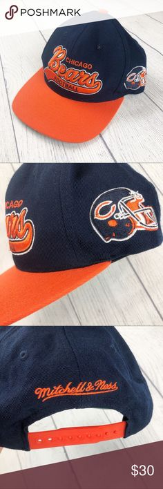 Embroidered lettering and helmet patch on side. I NFL Accessories Hats Nfl Football Helmets, Nfl Football Games, Football Memes, Nfl Jerseys, Football Players, Nfl Redskins, Nfl 49ers, Nfl Chicago Bears, Chicago Football