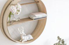 [ DIY ] Un tamis transformé en étagère suspendue