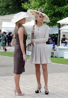 Katherine Jenkins highlights her figure at Royal Ascot ...