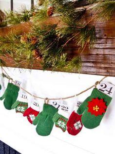 calendrier de l'Avent Noël et idée de bricolage original par Layla Palmer