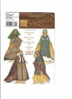 Free Copy of Pattern - Simplicity 5547