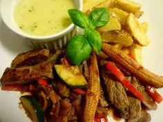 Edel's Mat & Vin : Picado med grønnsaker - Biffgryte ♫♪