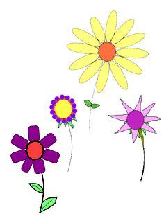 How to Draw a Simple Flower -- via wikiHow.com