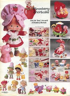1982-xx-xx Sears Christmas Catalog P310 by Wishbook, via Flickr.  Loved Strawberry Shortcake.
