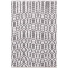Give your home a sophisticated look with this Dash and Albert Rugs Fair Isle Grey/Platinum Geometric Area Rug. Designed as a reversible rug to ensure longevity, this hand woven area rug is made using Contemporary Area Rugs, Modern Rugs, Types Of Color Schemes, Dash And Albert, Braided Rugs, Geometric Rug, My Escape, Rugs Online, Woven Rug