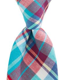 Madras Woven Tie