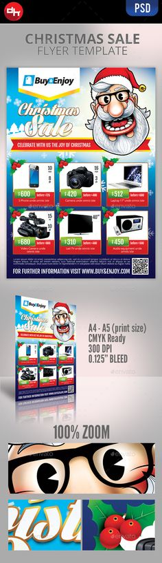 Christmas Sale.  	ad, advert, advertisement, best price, buy, campaign, christmas, commerce, discount flyer, magazine, merry, mistletoe, promote, sale, santa, santa claus, showcase, winter, x-mas, xmas