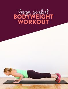 VIDEO: Yoga Sculpt Workout - http://fitnessandhealthpros.com/diet/video-yoga-sculpt-workout/