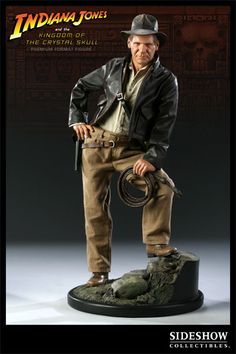 Indiana Jones: Kingdom of the Crystal Skull    Indiana Jones Premuim Format Figure    http://www.sideshowtoy.com/?page_id=4489&sku=71931#!prettyPhoto[product_gallery]/2/