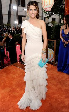 Sandra Bullock from A Colorful History of the Golden Globes  2009